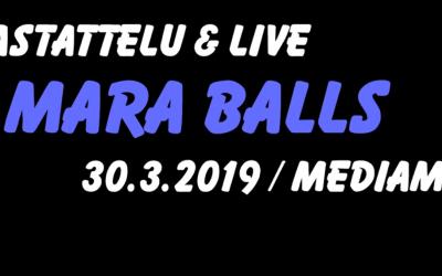 Mara Balls / Haastattelu & Live Mediamajassa 30.3.2019