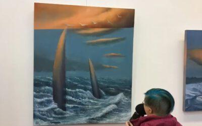 Mielenpäällä Kuusankoskitalon Galleriassa – taiteilijana Ilja West